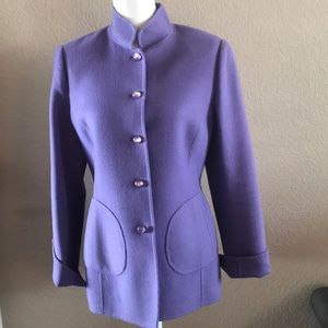 Super cute Carlisle purple blazer.Size 10